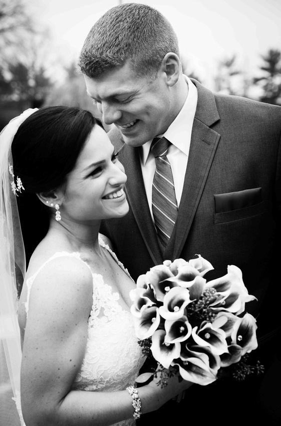 Erica's wedding day photo's