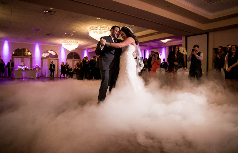 Wedding photography at Versailles Ballroom
