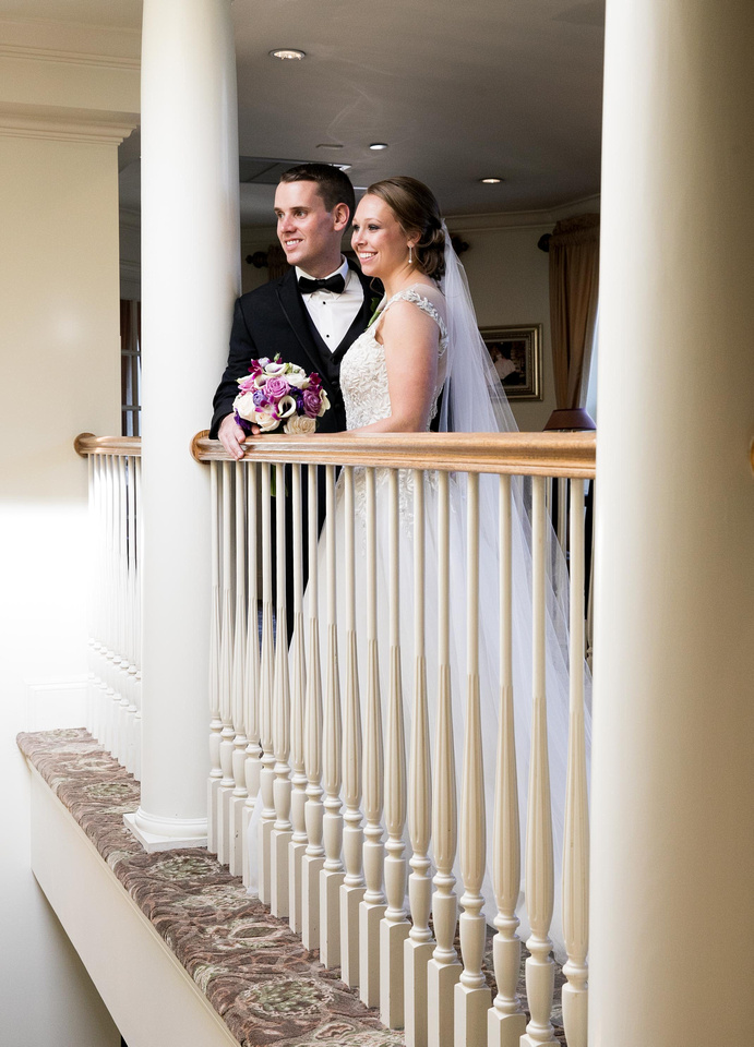 Eva and Josh's wedding at the Olde Mill Inn