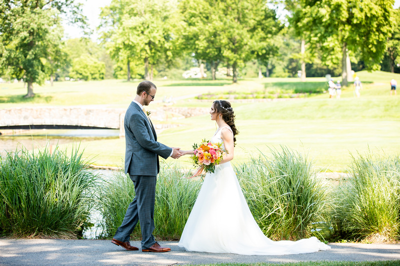 Lauren and Jason at the Montclair Country Club