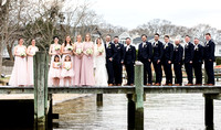 Jessica and Kevin Gambrino's Wedding Day at Clarks Landing Yacht Club