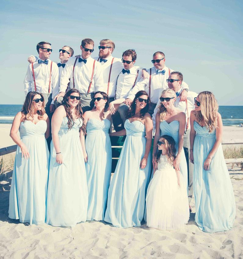 Beach Bridal Portrait Session